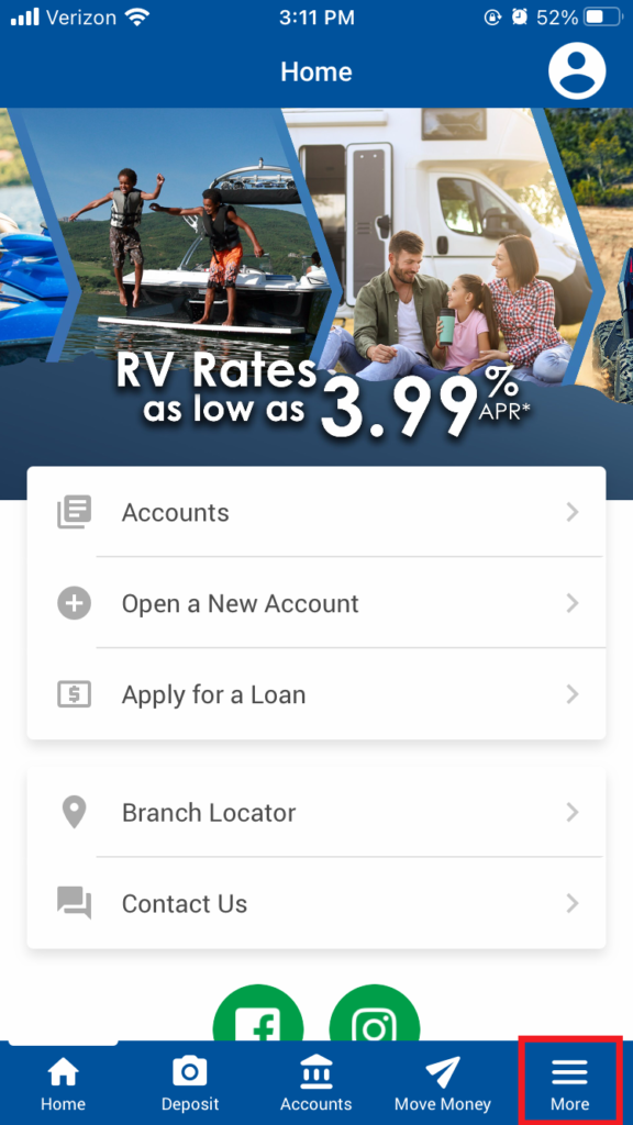 Mobile Home Page