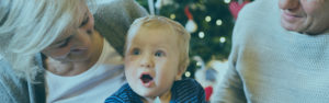 Christmas Club | Grandparents and baby at the holidays