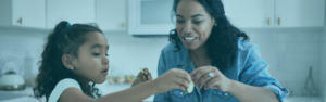 Consumer Loans | Mother cooking with daughter