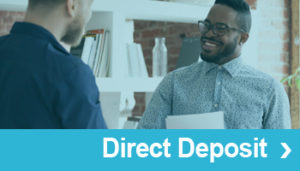 Direct Deposit Cross Sale Button