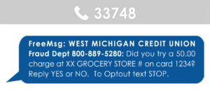 Text example from 33748 Fraud Department