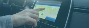 Finger on GPS