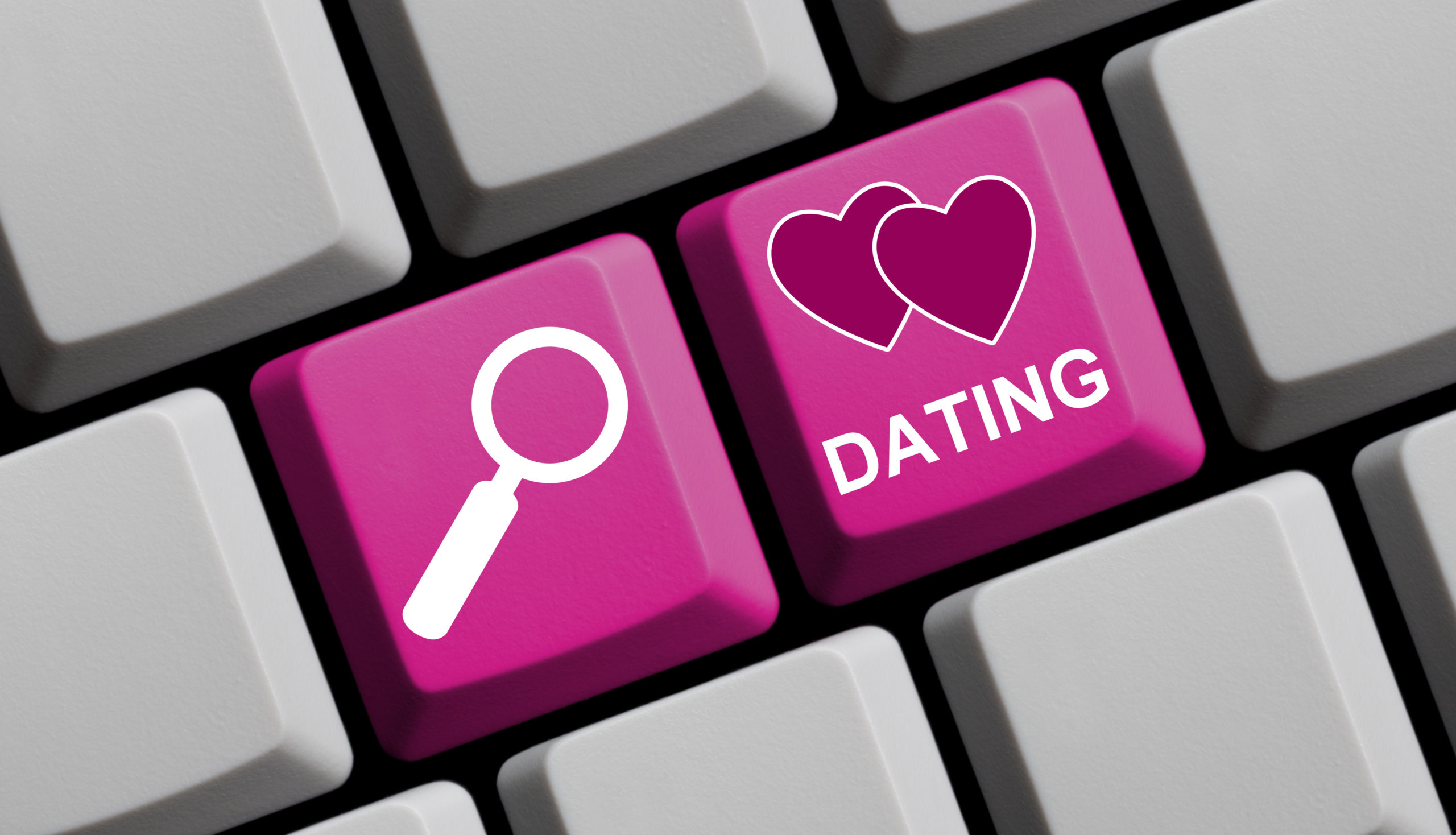 Keyboard with buttons for Online Dating