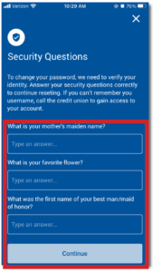 Mobile App Security Questions
