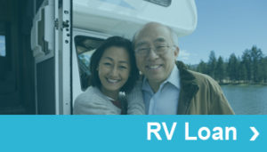 RV Loan Cross Sale Button