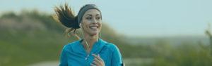 Woman jogging   Savings Rates