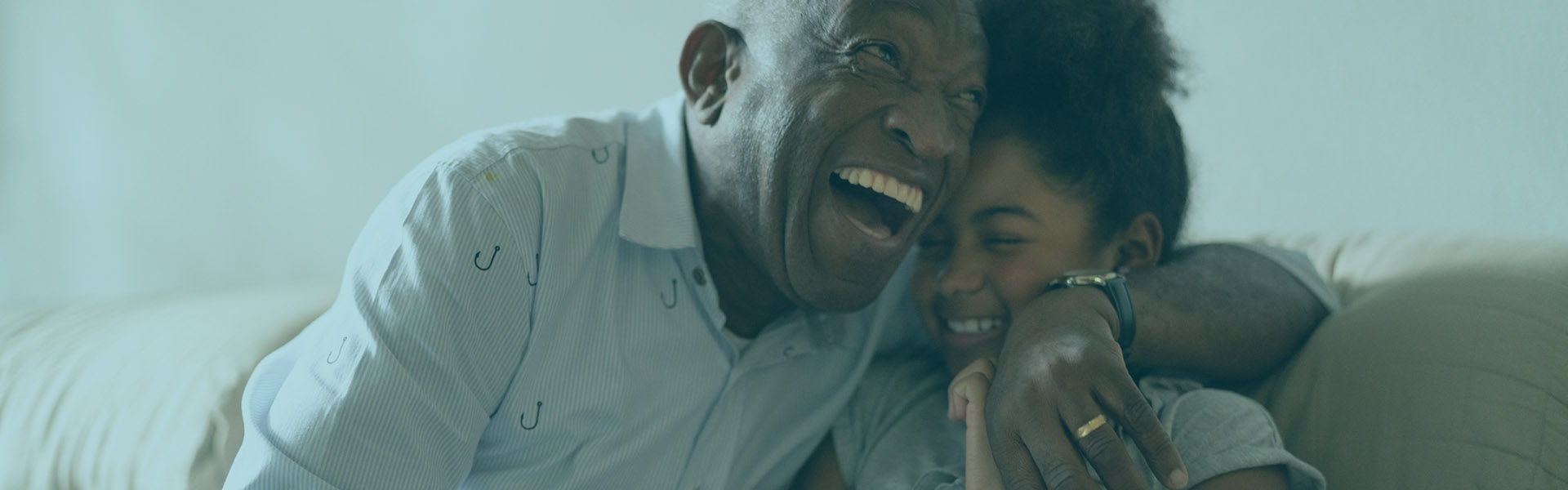Savings Accounts Hero | Grandfather and Granddaughter