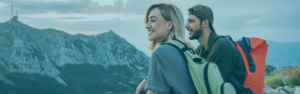 Simple Checking Account - Couple hiking