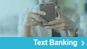 Text banking Cross Sale Button
