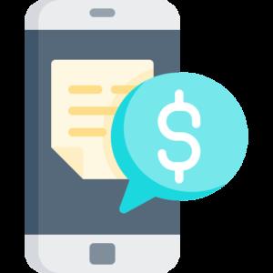mobile deposit icon